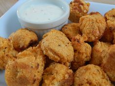 Here's another Superbowl finger food you can add to your party.. These buffalo cauliflower tots are so scrumptious.. and…