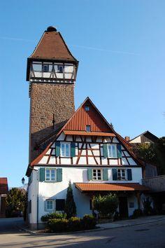 Stork Tower of Gernsbach  Germany
