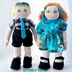 Mimin Dolls: Amy and Andrew