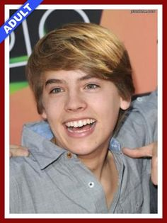 Cole Sprouse - Celebrity School Pic