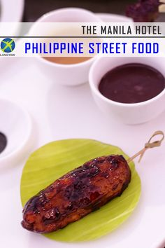 Philippine street food at a five star setting while watching the famous Manila Bay sunset? Of course, only at the historic Manila Hotel's Sundeck. Manila, Street Food, Philippines, Traveling, Foods, Viajes, Food Food, Food Items, Trips