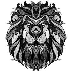 Татуировка знака зодиака лев. Фото тату знака зодиака лев