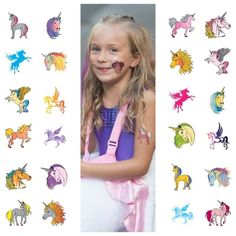 24 Unicorn Temporary Tattoos for Girls Best for Unicorn Party Gifts Party Favors #BirthdayChild #children #partyfavor #partyfavortags  #unicorn #unicornparty #unicorntattoos #temporarytattoos #kids #toddlers #palettes #gift #GiftIdeas #girlsgifts #xmas #christmas #xmasgift #xmasgiftideas #christmasgifts #ChristmasGiftIdeas #Petite #petitejoy #birthday #Birthdayparty