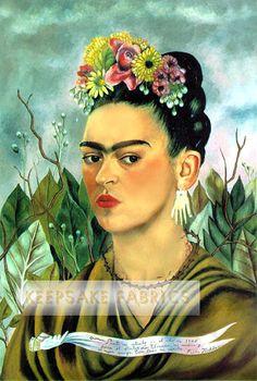 Frida Kahlo Portrait Quilt Block Multi Sizes Free Shipping World Wide 7F   eBay Multi Sizes Available