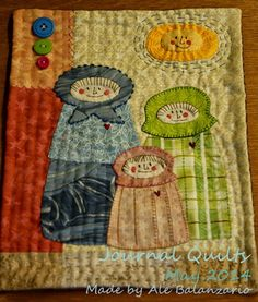 Made by Ale Balanzario: Journal Quilts, May 2014