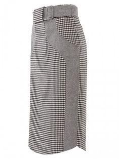 Burda Style Moda - Falda con dos telas