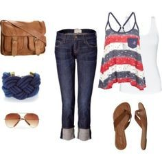 cute 4th of july outfits - Google Search