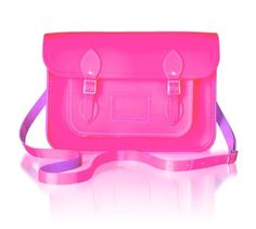 Do you love this kind of cambridge satchel in pink? Leather Bags Handmade, Everything Pink, Cambridge Satchel, Monogram, Handbags, Cheap Windows, My Style, Pay Attention, Neon