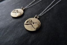 OMG i so want these... Best Friends, Set of 2, STERLING SILVER, Pinky Promise Necklace, BFF Jewelry, Sisters Set, Pinky Swear on Etsy, $27.00
