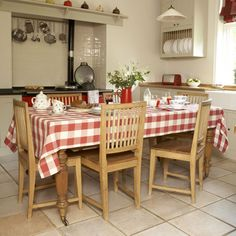 From Modern Country Style Blog: Country Kitchens