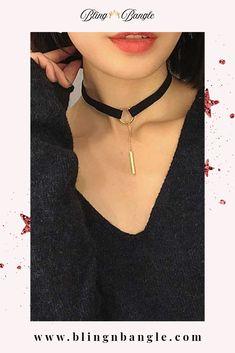 #jewellery #rings #bracelet #necklaces #earrings #choker #anklet #girls #womens #fashion Layered Choker Necklace, Layered Chokers, Jewellery Rings, Diy Jewelry, Girls Choker, Black Leather Choker, Punk Fashion, Womens Fashion, Rhinestone Choker