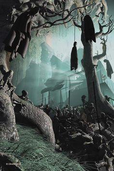 Horror Art   Digital Horror Art on Renderosity.com