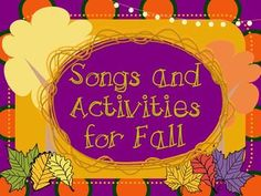 *UPDATED 8/14/13* Over 300 pages! This set is packed full of songs and activities specifically geared toward the fall and Halloween in the Kodaly music classroom.