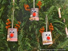 Write Snap Scrap: Toilet Roll Reindeer: Christmas Crafts for Kids