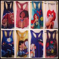 MUST. HAVE. ALL. OF. THEM!!! Disney tanks