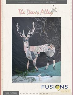 The Deer's Alley Quilt by AGF Studio