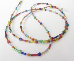 Brillenketten - Unisex fröhliche Brillenkette kunterbunt.... - ein Designerstück…