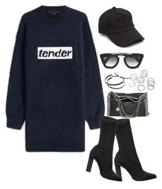 """Sin título #1167"" by vivig5 on Polyvore featuring moda, Alexander Wang, Calvin Klein Collection, STELLA McCARTNEY, rag & bone, Prada y Links of London"