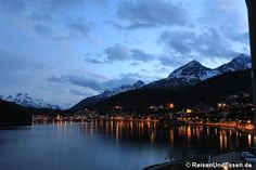 Abends am St. Moritzersee via @reisenundessen