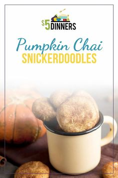 Everyone loves a good homemade cookie. And you're really going to love these fall favorites! Our pumpkin chai cookies have all the autumn flavors, in a deliciously soft form. Try baking a dozen - or two or three - this week! You'll be back for more!