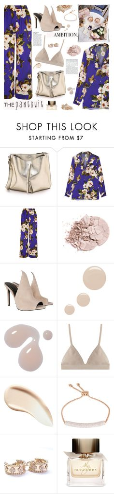 """""""The Pantsuit"""" by giogiota ❤ liked on Polyvore featuring Maison Margiela, Dolce&Gabbana, Kendall + Kylie, Topshop, Proenza Schouler, Burberry, Anja, Monica Vinader, Van Cleef & Arpels and thepantsuit"""