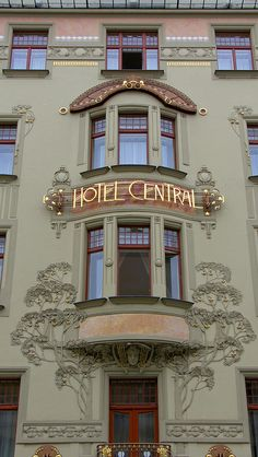Art Nouveau in Prague