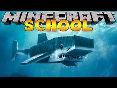 Minecraft School : SHARK FISHING FIELD TRIP ! - YouTube Minecraft School, Freddy's Nightmares, Monster School, Little Lizard, Tiny Turtle, School Videos, Miraculous Ladybug, Shark, Fishing