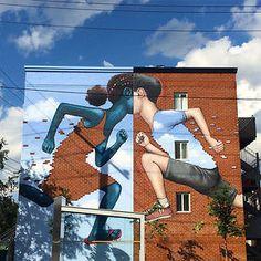 Street art & graffiti by Seth Globepainter (Julien Malland) - 5 3d Street Art, Murals Street Art, Urban Street Art, Amazing Street Art, Street Art Graffiti, Street Artists, Graffiti Murals, Art Français, Art Mural