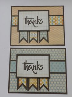 Kathryn's Cards: 6x6 Cutting Formula
