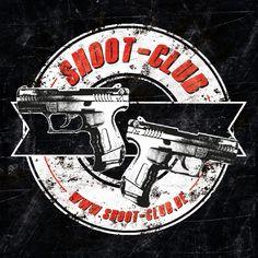 shoot-club Sticker im Doppelwaffen-Design - quadratisch 9,8 x 9,8cm - Unser stylischer Sticker im Doppelwaffen-Design erinnert ein wenig an das Colour einer Rocker-Kutte und ist ein absolutes Must-Have für jeden ambitionierten Schützen. Er ist dank seiner UV-Beschichtung sehr witterungsbeständig und klebt einfach überall. Auf dem Auto, dem Waffenkoffer, dem Gewehrschaft, dem Kühlschrank, dem Spiegel oder wo auch immer Ihr ihn hinkleben möchtet, macht er einen coolen Eindruck.