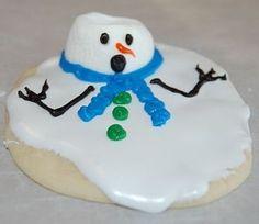 Melting snowman cookies!!!