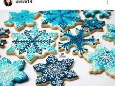 Snowflake cookies                                                                                                                                                                                 More