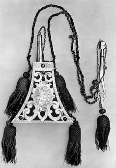 Metropolitan Museum of Art: Powder Flask and Wheellock Spanner Made for the Bodyguard of the Prince-Elector of Saxony, 1600.
