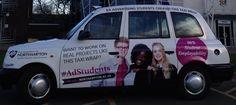The University of Northampton has chosen Transport Media to deploy a student-designed taxi campaign across the town. Taxi Advertising, Ads, Northampton University, Uk Transport, Black Cab, Selfies, Transportation, Campaign, Students
