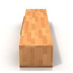 Boverio szafka RTV z drewna bukowego