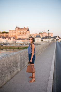 Traveling through Loire Valley in @oldnavy