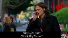 Garcia and Reid - Boy wonder.... (Like Robin?)