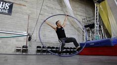 For Cyr Wheel Artist Randy Kato, a Balancing Act Between the Mind and Physical Strength