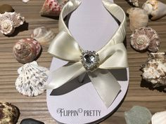 Excited to share the latest addition to my #etsy shop: Heart Diamante Crystal Satin Bow Bridal Flip Flop, Bridal shoe, bridesmaid shoes, Wedding flip flops, Wedding slippers, honeymoon, handmade