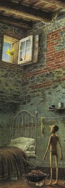 The Adventures of Pinocchio by Roberto Innocenti