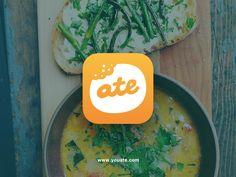 Ate app icon for iOS by Richard Gazdik