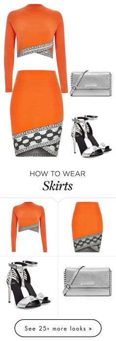 """OJ"" by carlafashion-246 on Polyvore featuring MICHAEL Michael Kors, River Island and Fendi"