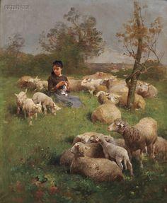 Luigi Chialiva (Italian-Swiss 1842 - 1914)