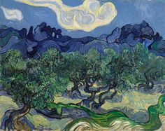 Vincent van Gogh: The Olive Trees, 1889