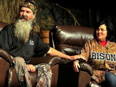 """Phil and Miss Kay Robertson of the TV show """"Duck Dynasty"""" speak at the Don Meyer Evening of Excellence at Lipscomb University on Friday, April 26, 2013, in Nashville, Tenn."""