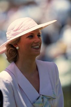 January 27, 1988: Princess Diana during their visit to the Footscray Park in suburb of Melbourne. (Day 3)