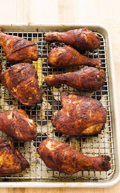 Spice-Rubbed Picnic Chicken. A dry-rub sauce of brown sugar, chili powder, paprika, and pepper for our picnic chicken makes it easy to pack (and eat!) for a summer afternoon al fresco.