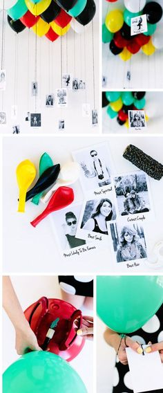 Balloon + Photo Memory Gallery | Click Pic for 29 DIY Christmas Gift Ideas for Men | DIY Christmas Gifts for Boyfriends