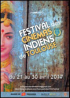 Affiche 5ème édition du Festival des Cinémas Indiens de Toulouse / Toulouse Indian Film Festival