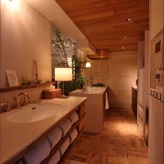 Modern Bathroom Design Ideas For Your Family Heaven Browse modern bathroom designs and decorating ideas. Discover inspiration for your minimalist bathroom remodel, including colors, storage, and layouts. Modern Bathrooms Interior, Modern Bathroom Design, Bathroom Designs, Bathroom Ideas, Retro Apartment, Laundry Room Bathroom, Washroom, Laundry Rooms, Minimalist Bathroom